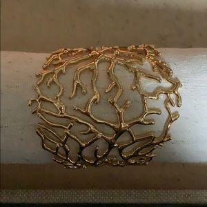 Chloe & Isabel gold cuff bracelet